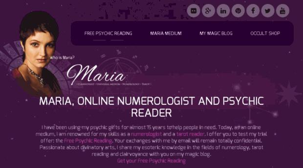 Free Psychic Reading Medium online
