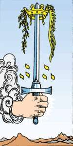 Ace of Swords meaning love hapiness